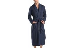 Night & Day Knit Robe, Black Iris by Hanro in Ballers