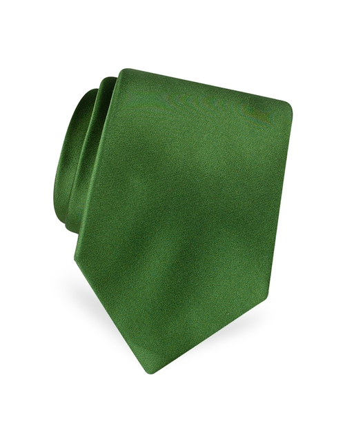 Solid Pure Silk Satin Silk Tie by Forzieri in Empire - Season 2 Episode 8