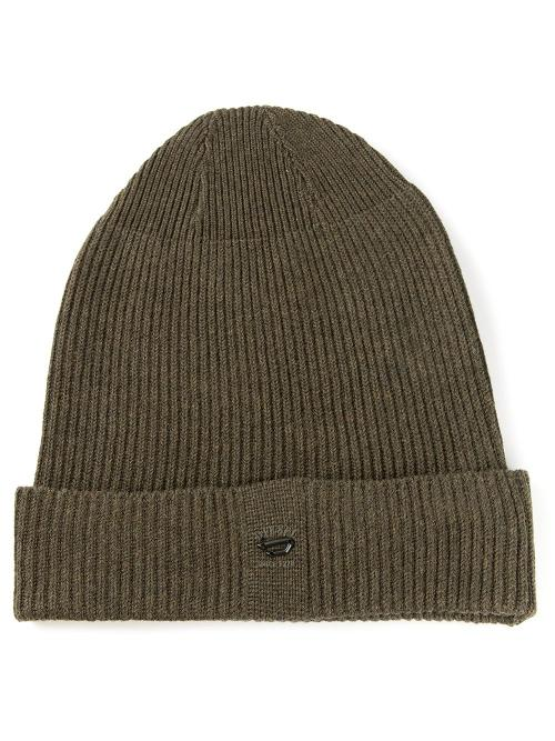 Ribbed Knit Beanie Hat by Diesel in The Expendables 3