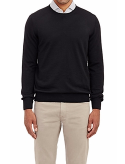 Fine-Gauge Knit Sweater by Barneys New York in The Flash