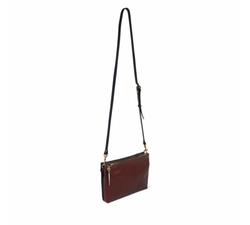 Marlborough Leather Crossbody Bag by Kempton & Co in Gypsy