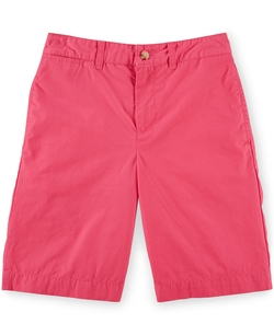 Boys' Cotton Poplin Shorts by Ralph Lauren in Black-ish