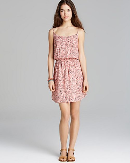 Wildflower Print Dress by Splendid in Pitch Perfect 2