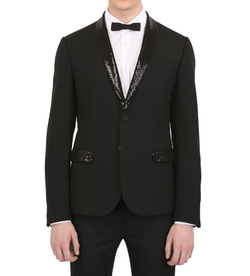 Sequined Lapels Tuxedo Jacket by Daniele Alessandrini in Shadowhunters