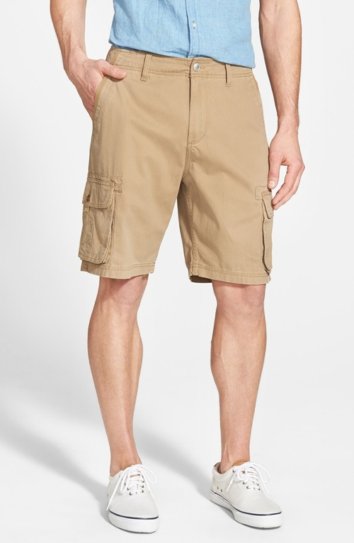 'The Deluxe' Cargo Shorts by Quiksilver in Love & Mercy
