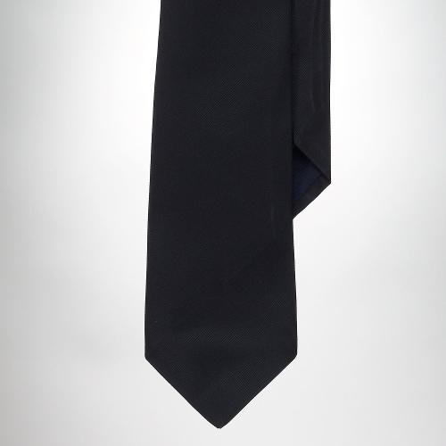 Solid Silk Tie by Polo Ralph Lauren in Unbroken