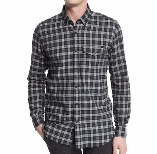 Samuel Check Flannel Shirt by Belstaff in The Great Indoors - Season 1 Preview