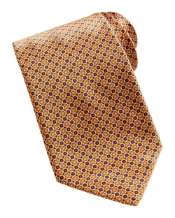 Neat Flower Pattern Silk Tie by Stefano Ricci in Suits