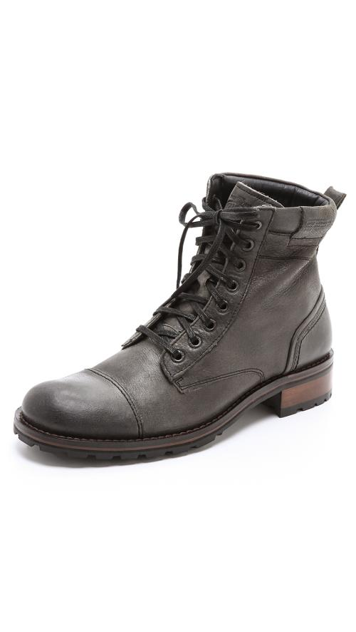 Montgomery Lace Up Boots by Wolverine 1000 Mile in The Expendables 3