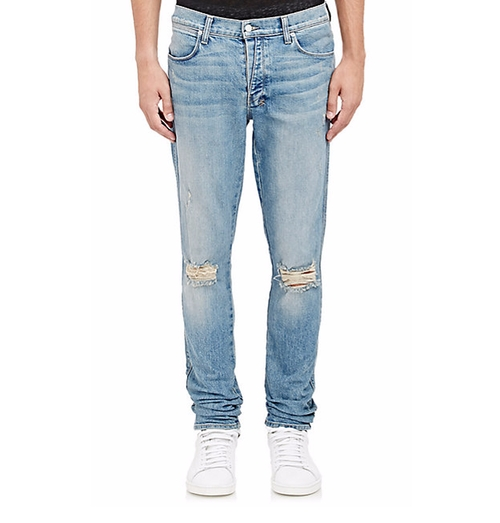 Van Winkle Non Cents Distressed Skinny Jeans by Ksubi in Keeping Up With The Kardashians
