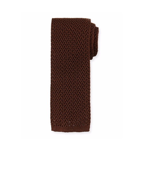 Silk Knit Flat-End Tie by Tom Ford in Keeping Up with the Joneses