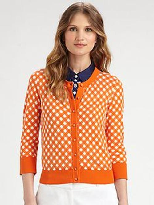 Kati Printed Cardigan by Kate Spade New York in The Other Woman