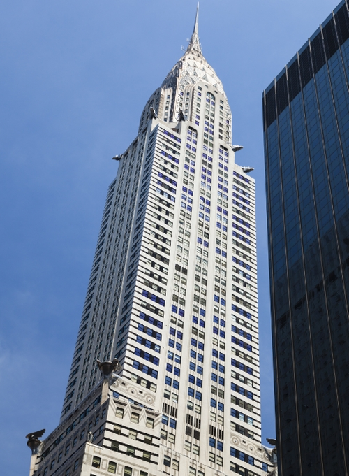Chrysler Building New York City, New York in Teenage Mutant Ninja Turtles: Out of the Shadows