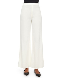 Washable Wide-Leg Pants by Misook in Elementary