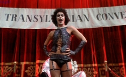 Dr. Frank-N-Furter Sweet Transvestite Costume by Sue Blane (Costume Designer) in The Rocky Horror Picture Show