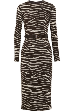 Zebra Print Dress by Michael Kors in Fuller House