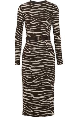Zebra Print Dress by Michael Kors in Fuller House