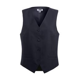 Fully Lined V-Neck Economy Vest by Edwards Garment in Girlboss