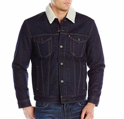 Faux-Shearling Trucker Jacket by Levi's in Quantico