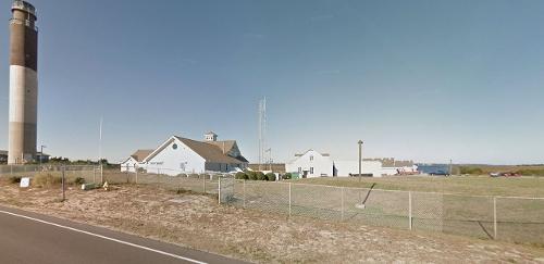 US Coast Guard Station Oak Island, North Carolina in The Longest Ride