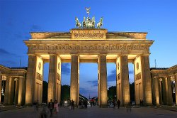 Berlin, Germany by Brandenburg Gate in Unfinished Business