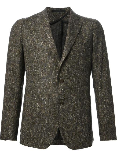 Tweed Blazer by Tagliatore in No Strings Attached