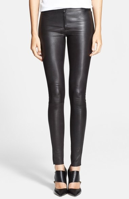 Leather Leggings by Alice + Olivia in Suicide Squad