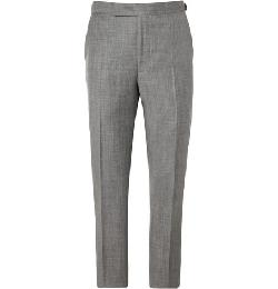 RELAXED-FIT WOOL SUIT TROUSERS by RICHARD JAMES in Transcendence