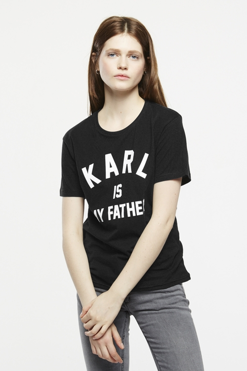 Farl W T-Shirt by Eleven Paris in Keeping Up With The Kardashians - Season 11 Episode 11