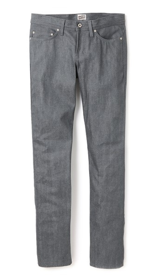 Weird Guy Selvedge Jeans by Naked & Famous in Dope