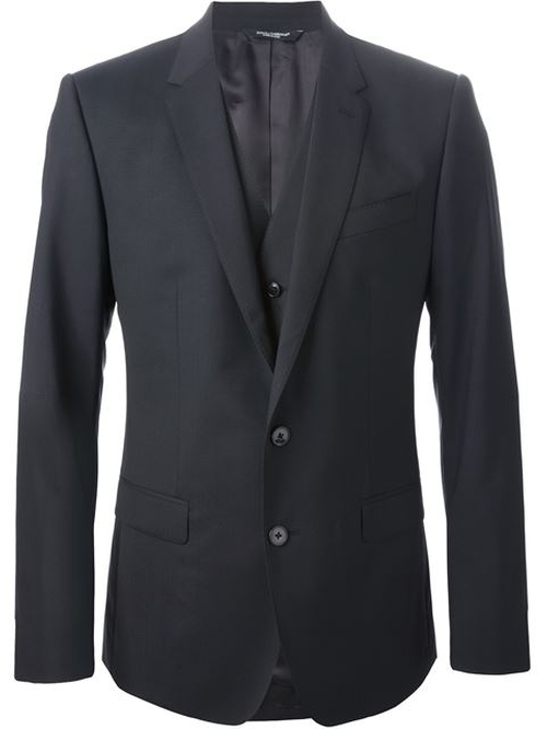 Classic Three-Piece Suit by Dolce & Gabbana in The Man from U.N.C.L.E.