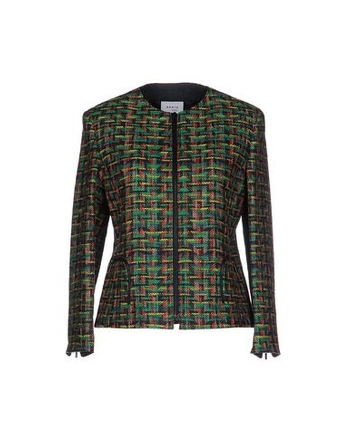 Tweed Pattern Blazer by Akris Punto in The Good Wife