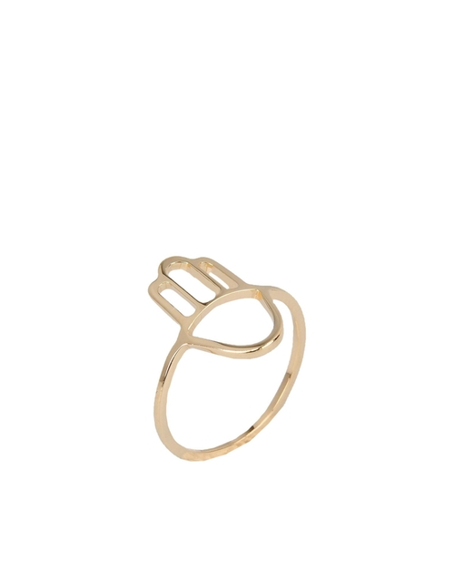 Gold Plated Bronze Ring by Nadine S. in Pretty Little Liars - Season 6 Episode 6