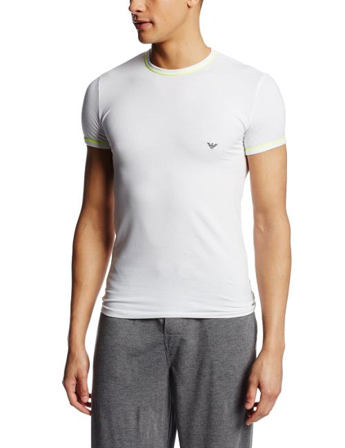 Men's Fashion Fluo Knit Crew T-Shirt by Emporio Armani in Beyond the Lights