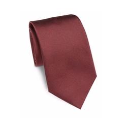 Solid Silk Tie by Armani Collezioni in Designated Survivor