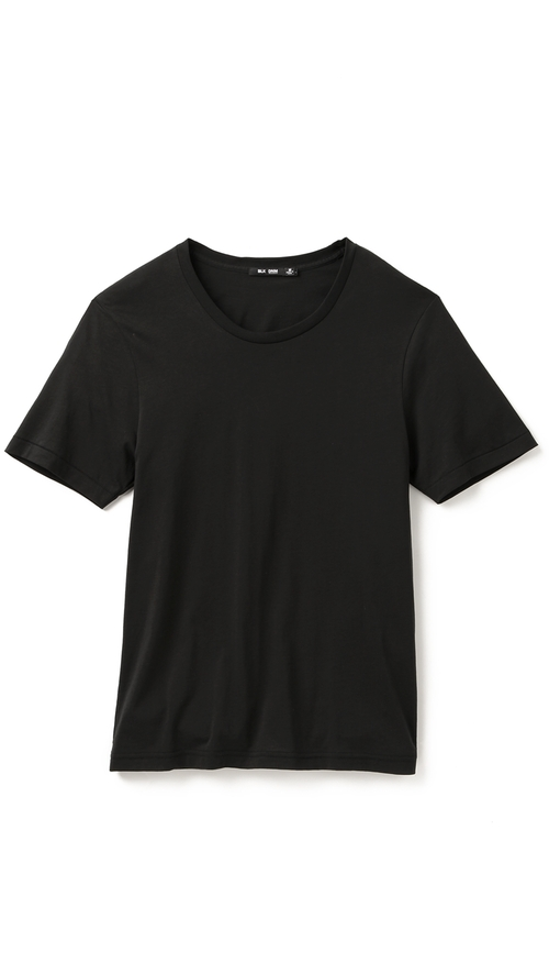 Classic Crew Neck T-Shirt by BLK DNM in Blackhat