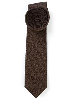 Textured Tie by Mr Start in Fight Club