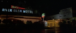 Los Angeles, California by River Glen Motel (Demolished) in Pulp Fiction