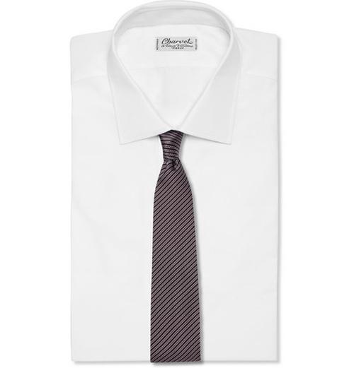 Striped Silk- Twill Tie by Paul Smith London in The Blacklist - Season 3 Episode 9