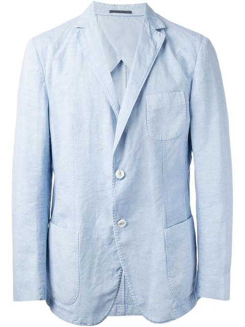 Two Button Blazer by Ermenegildo Zegna in And So It Goes
