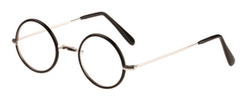 Warwick Eyeglasses - Rhodium / Matte Black Rim by Savile Row in Harry Potter and the Deathly Hallows: Part 2
