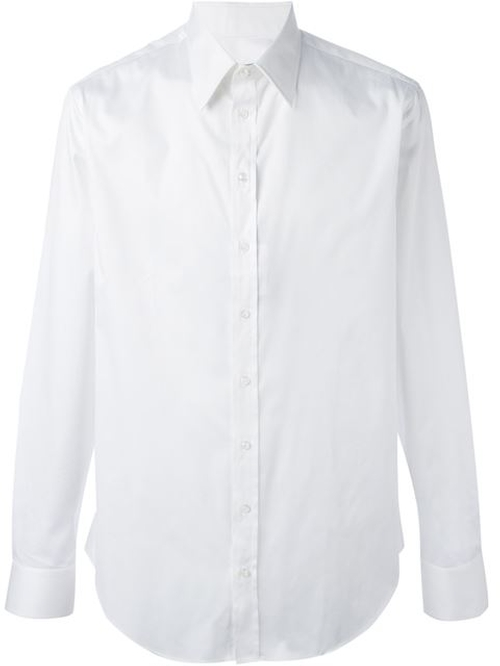 Pointed Collar Shirt by Giorgio Armani in The World is Not Enough