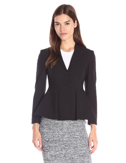 Flare Jacket by Theory in The Good Wife - Season 7 Episode 18