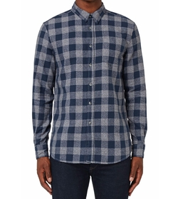Buffalo Check Flannel Shirt by Topman  in New Girl