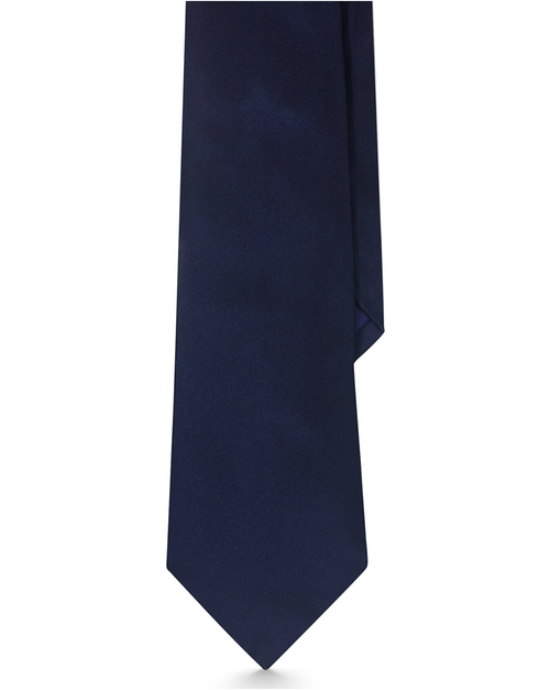 Solid Satin Tie by Ralph Lauren in Suits