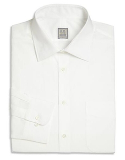 Solid Dress Shirt by Ike Behar in Survivor