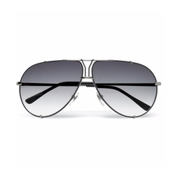 'Y' Logo Aviator Sunglasses by Yves Saint Laurent in Empire