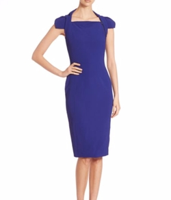 Cady Cap Sleeve Dress by Antonio Berardi in Suits