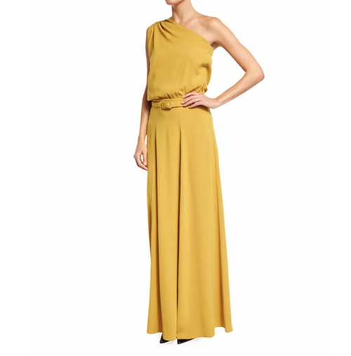 Draped One-Shoulder Belted Gown by Co in Mission: Impossible - Rogue Nation