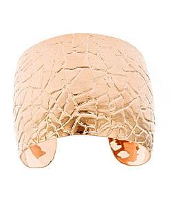 Gala Rose Gold Crocodile Cuff by Max & Chloe in The Other Woman